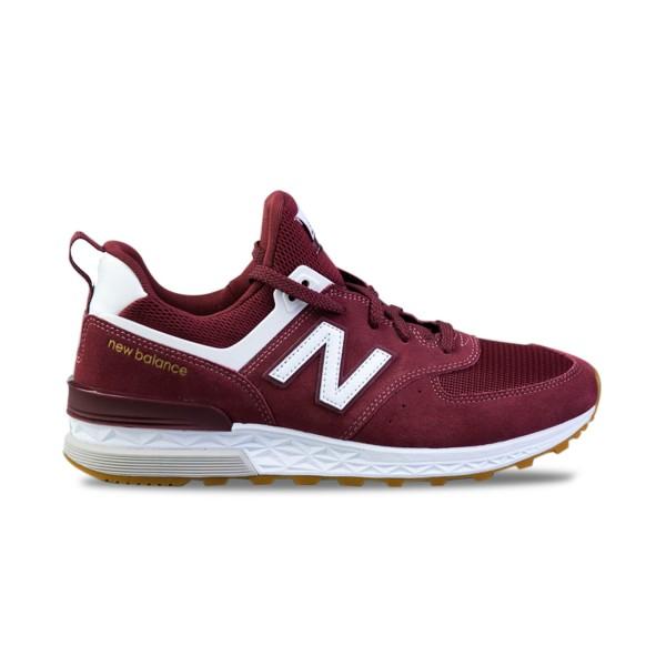 New Balance 574 Sport  Burgundy