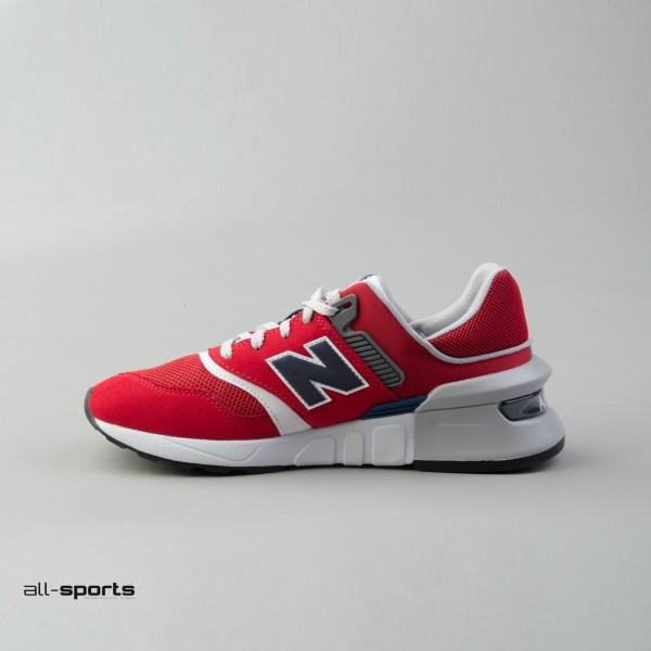 New Balance 997 Sport Red - Blue
