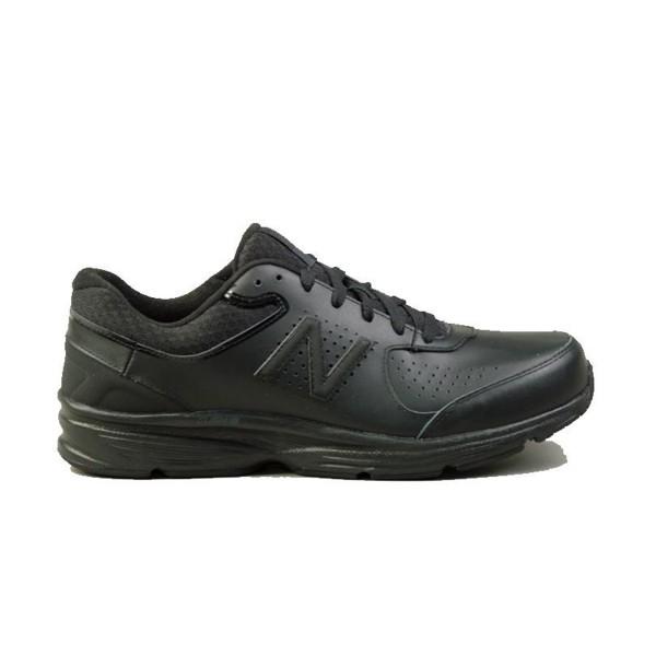 New Balance 411 Leather Black