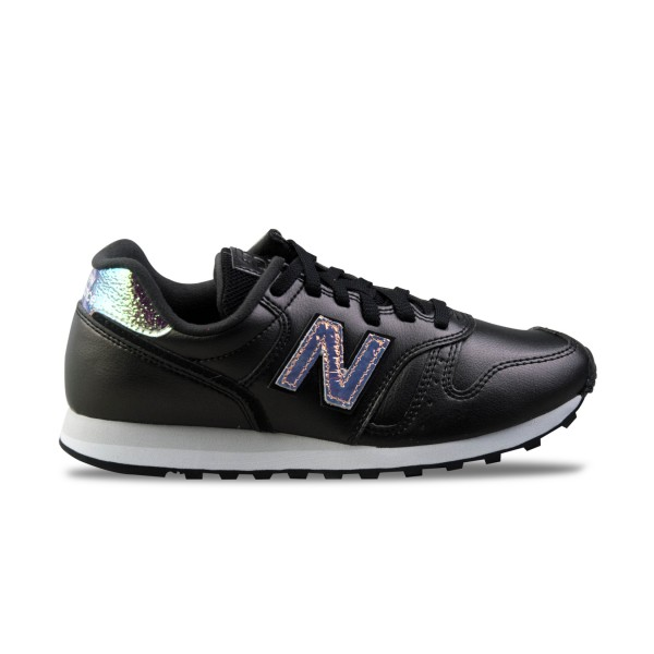 New Balance 373 Modern Leather Black - Iridescent