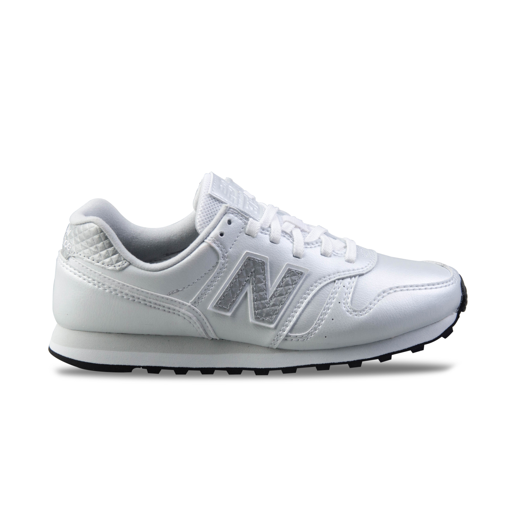 New Balance 373 Modern Leather Silver