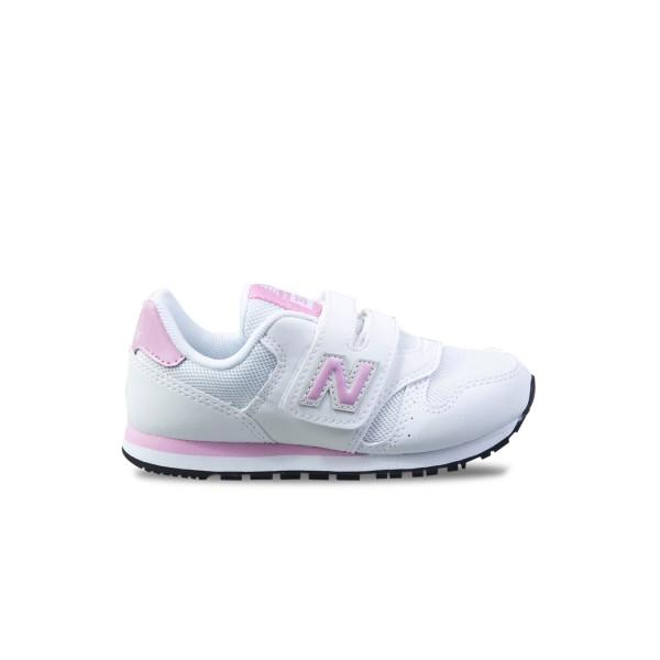 New Balance 373 K White - Pink