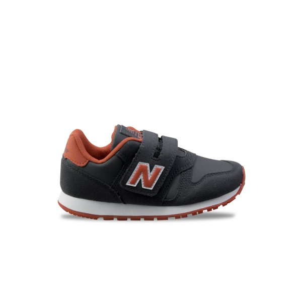 New Balance 373 Grey - Dark Orange