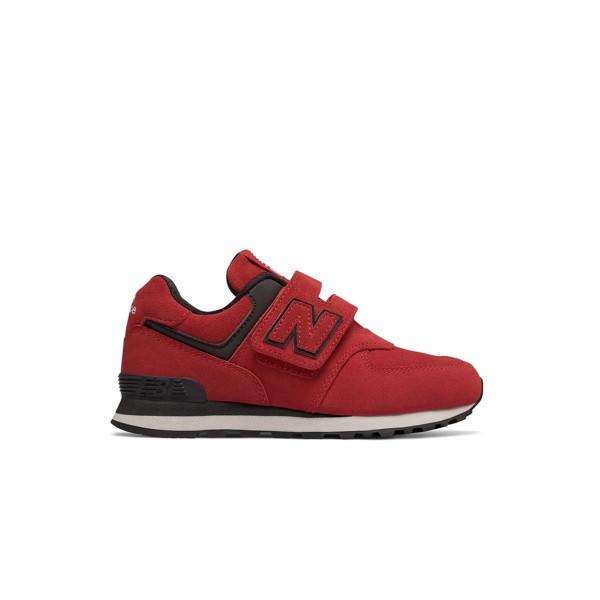 New Balance 574 Red - Black