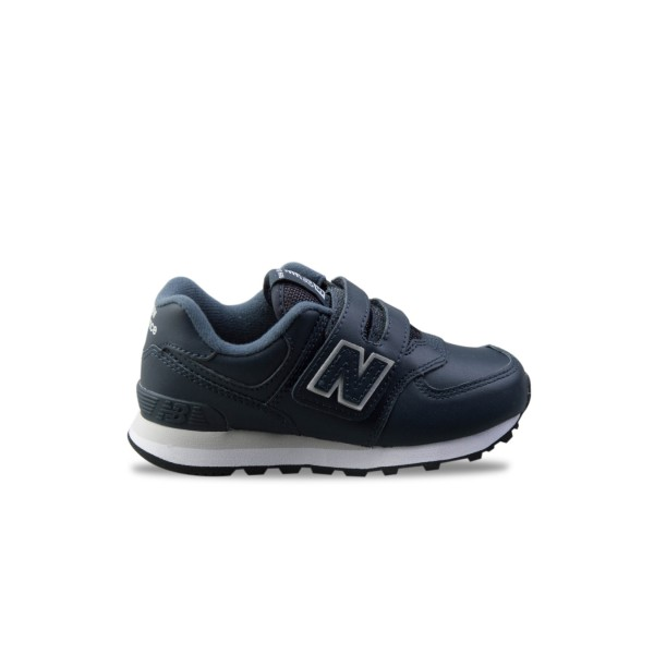 New Balance 574 K Leather Blue