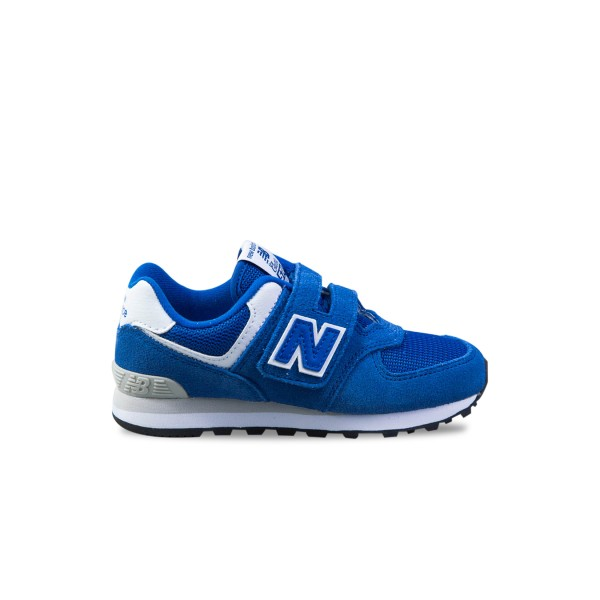 New Balance 574 Blue - White