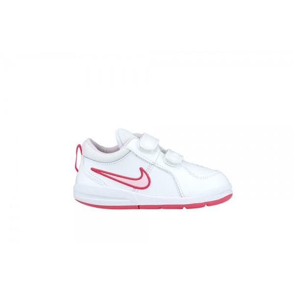 Nike Pico 4 Toddler White - Pink