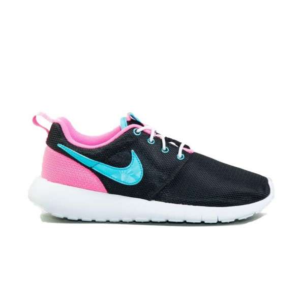 Nike Roshe One Black - Blue - Pink