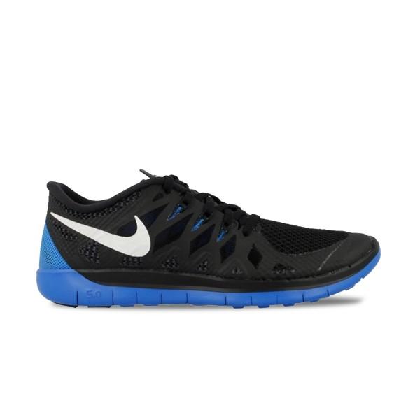 Nike Free 5.0 Black - Blue