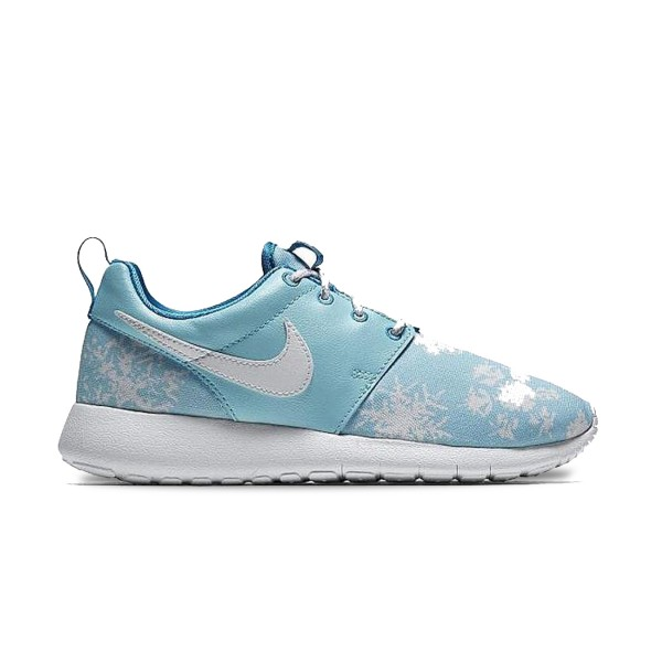 Nike Roshe One Blue Snowflakes
