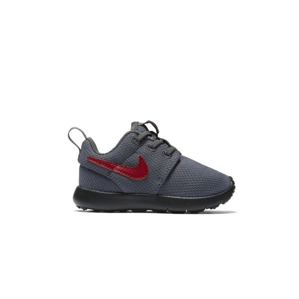 Nike Roshe One Dark Grey - Red