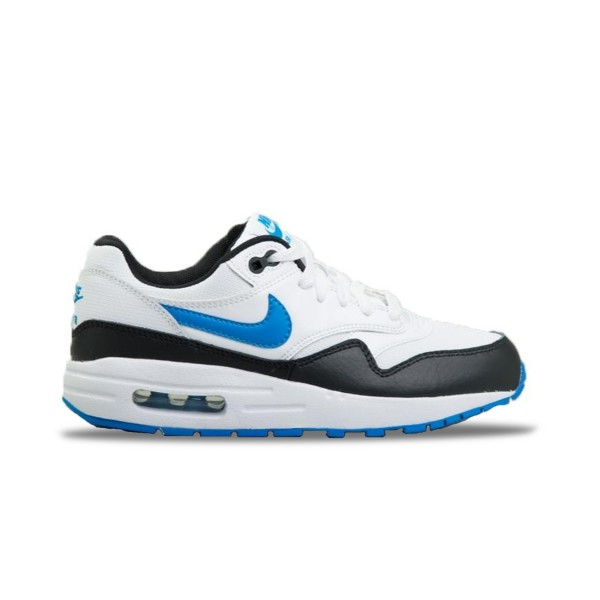 Nike Air Max 1 White - Black - Blue