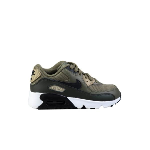 Nike Air Max 90 Mesh Medium Olive - Black
