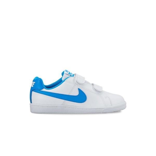 Nike Court Royale White - Blue