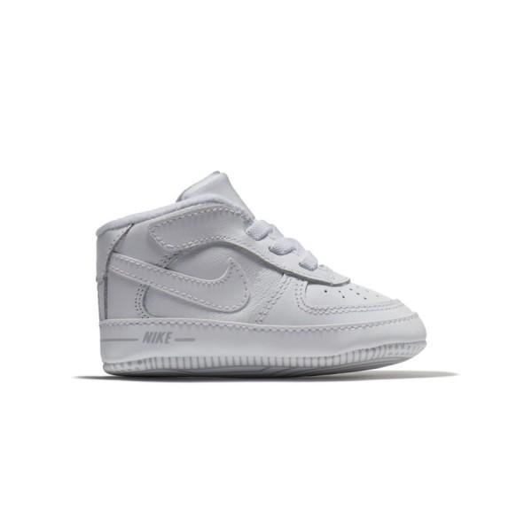 Nike Air Force 1 Crib Bootie White