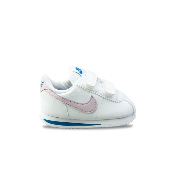 Nike Cortez Basic Sl White - Pink