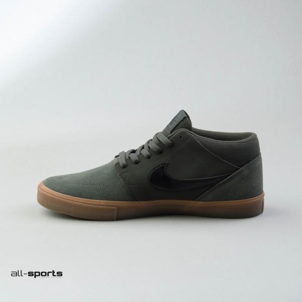 Nike Sb Solarsoft Portmore II Mid Sequoia