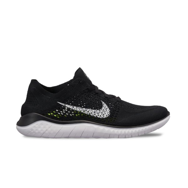 Nike Free Run Flyknit Black