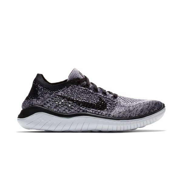 Nike Free RN Flyknit 2018 White - Black