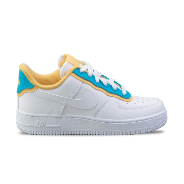 Nike Air Force 1 07 Se White - Blue - Yellow