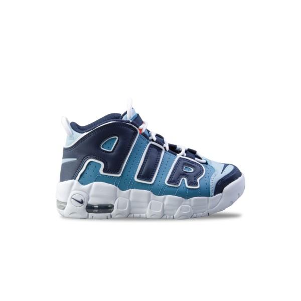 Nike Air More Uptempo White - Blue
