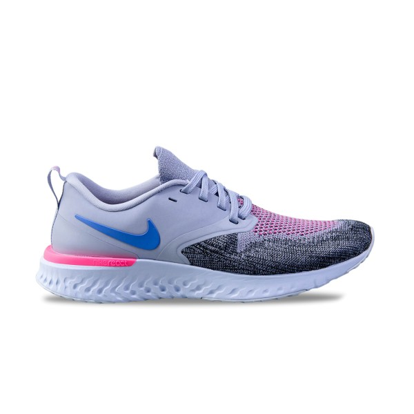 Nike Odyssey React Flyknit 2 Pink - Grey - Purple