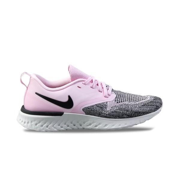 Nike Odyssey React Flyknit 2 Pink - Grey