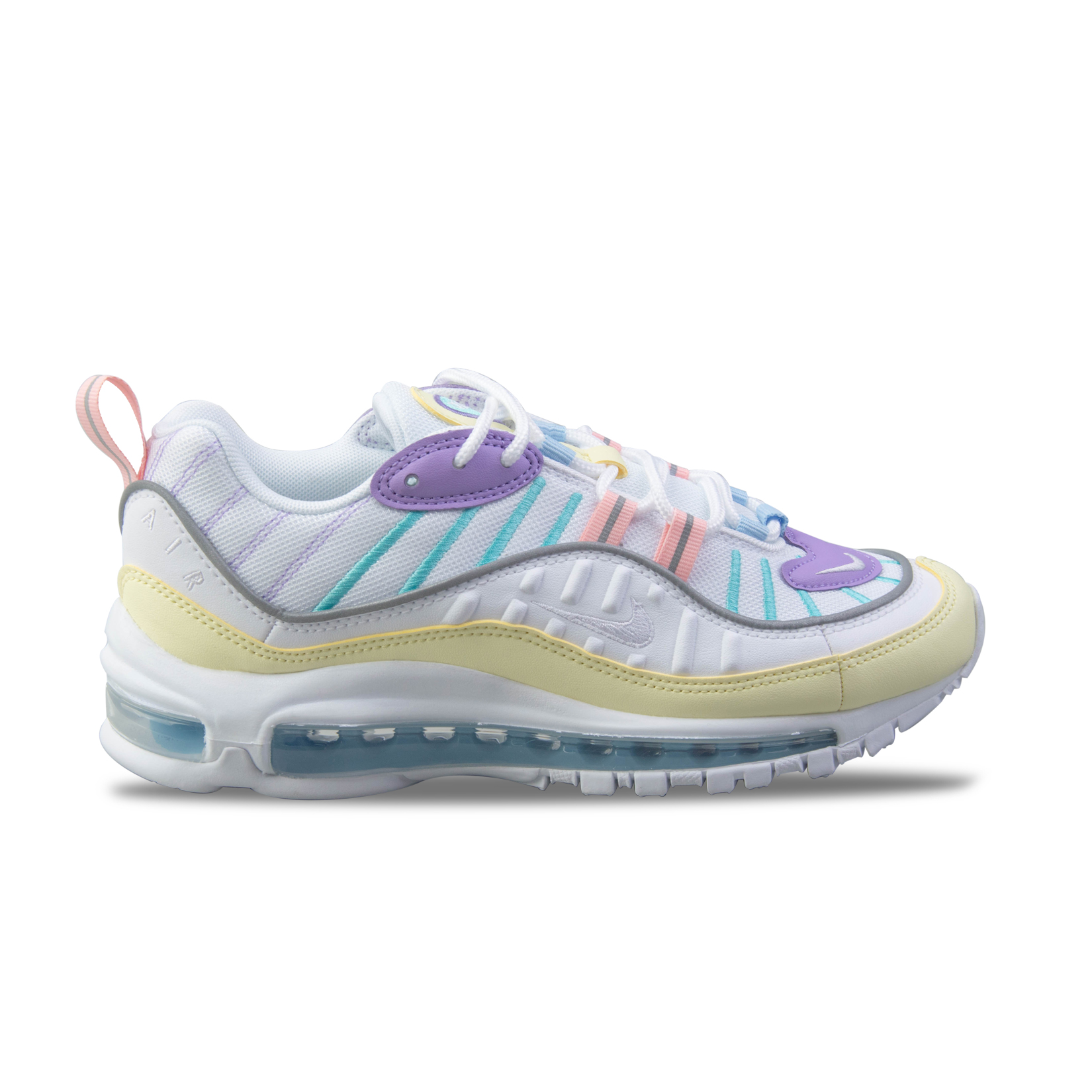cheap for discount c46aa c871e Unisex Shoes Nike Air Max 98 White / Multicolor | All-Sports.gr