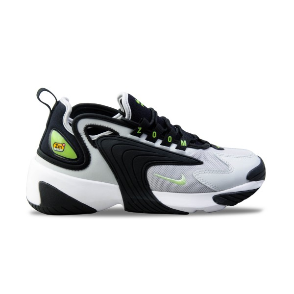 Nike Zoom 2K Grey - Black - Lime