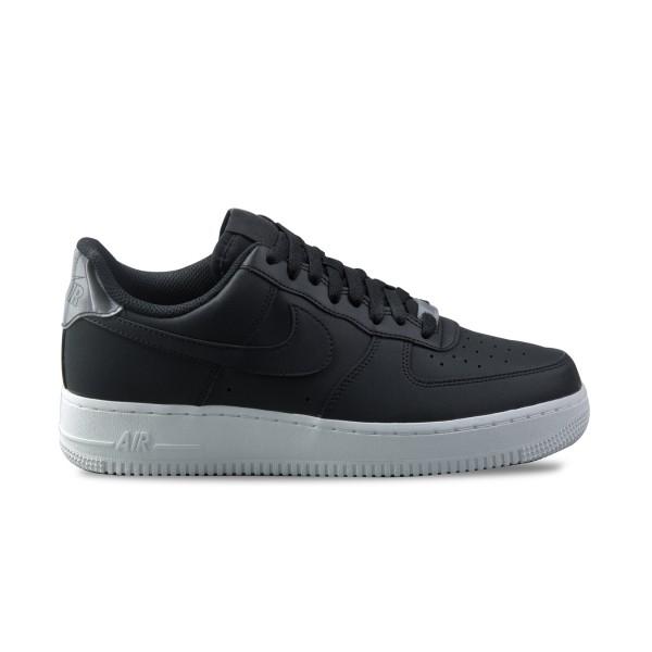 Nike Air Force 1 07 Essential Leather Black - Platinum