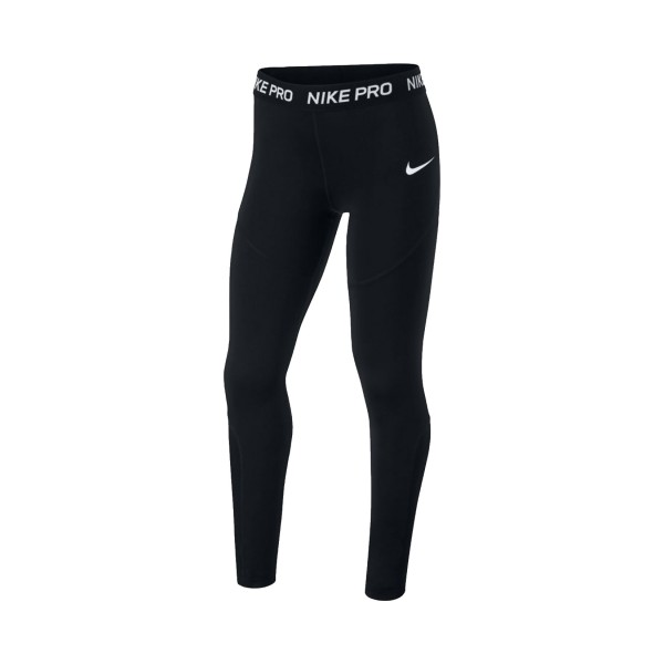 Nike Pro Tight Big Girls Black