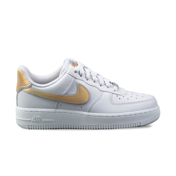 Nike Air Force 1 07  Leather Grey- MTLC