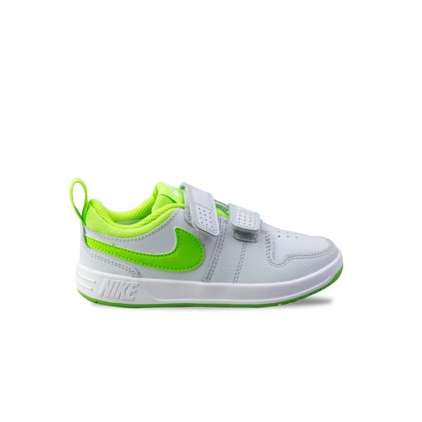 Nike Pico 4 Toddler Grey - Lime