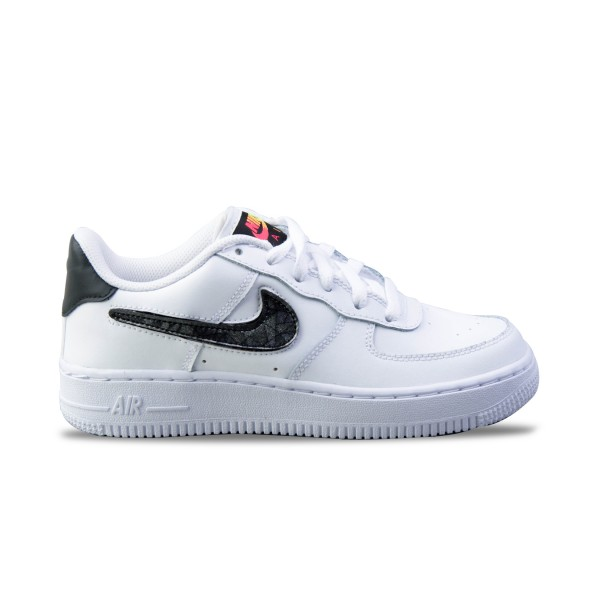 Nike Air Force 1 07 LV8 3 GS White - Grey