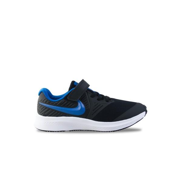 Nike Star Runner 2 Ps Black - Blue
