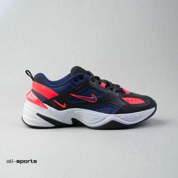 Nike M2K Tekno Black - Blue - Coral