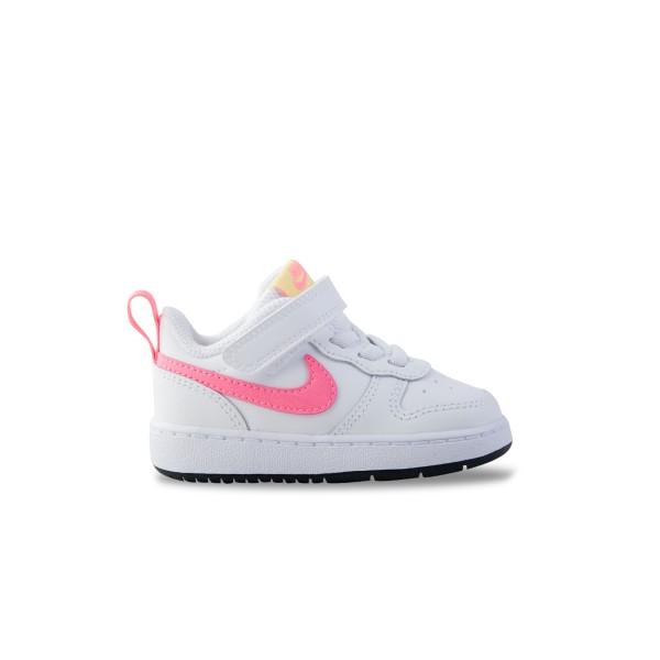 Nike Court Borough Low 2 White - Pink
