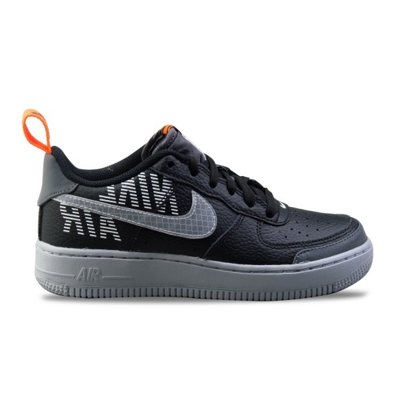 Nike Air Force 1 07 LV8 2 GS Black - Grey
