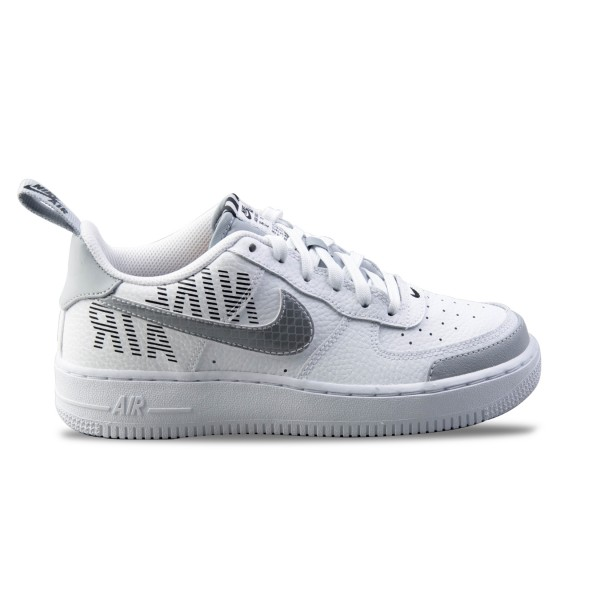 Nike Air Force 1 07 LV8 2 GS White - Grey