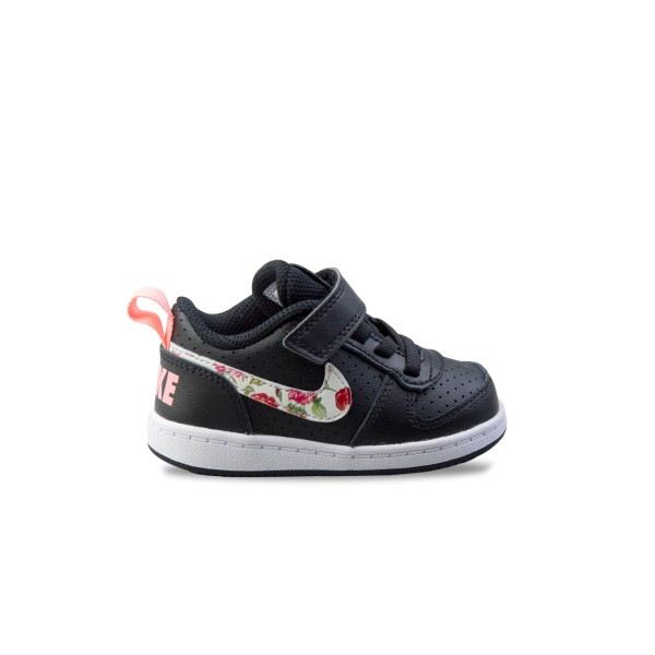 Nike Court Borough Low I Black - Floral