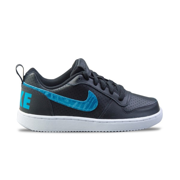 Nike Court Borough Low GS Black - Blue