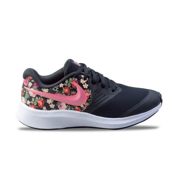 Nike Star Runner 2 VF Black - Floral