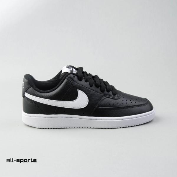 Nike Court Vision Low-Cut Black