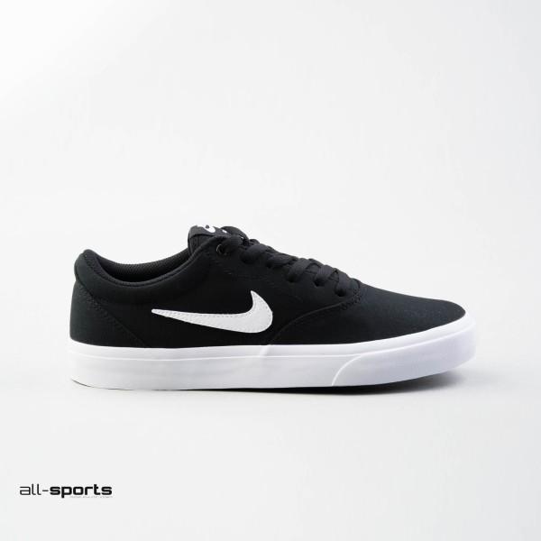 Nike SB Charge Canvas Black - White