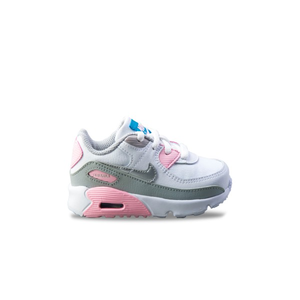 Nike Air Max 90 Leather White - Pink