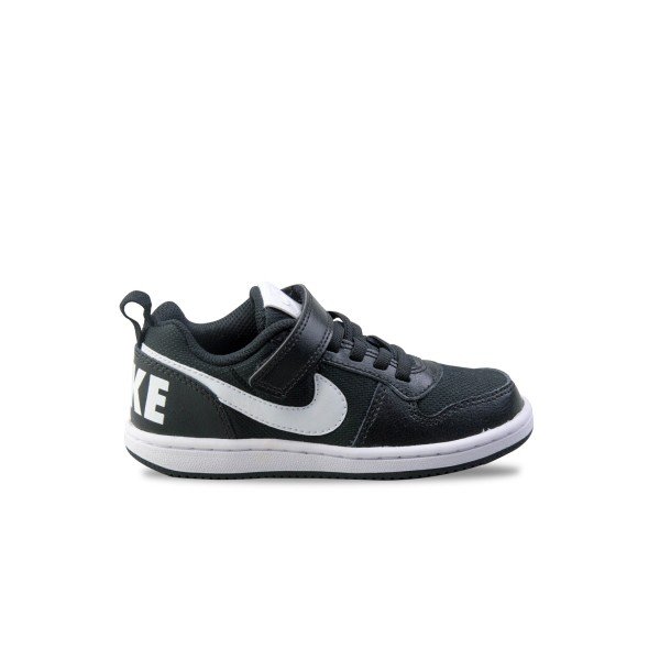 Nike Court Borough Low PS Black - White