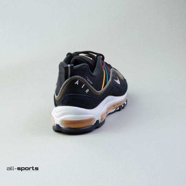 Nike Air Max 98 Black - Multicolor