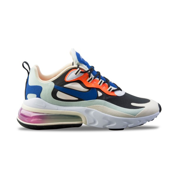 Nike Air Max 270 React White - Blue - Orange