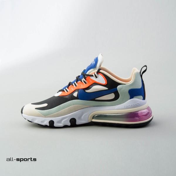 Nike Air Max 270 React White - Blue - Orange