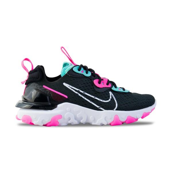 Nike React Vision Γυναικειο Παπουτσι Μαυρο